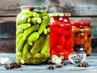Zelenina ve sklenicích
