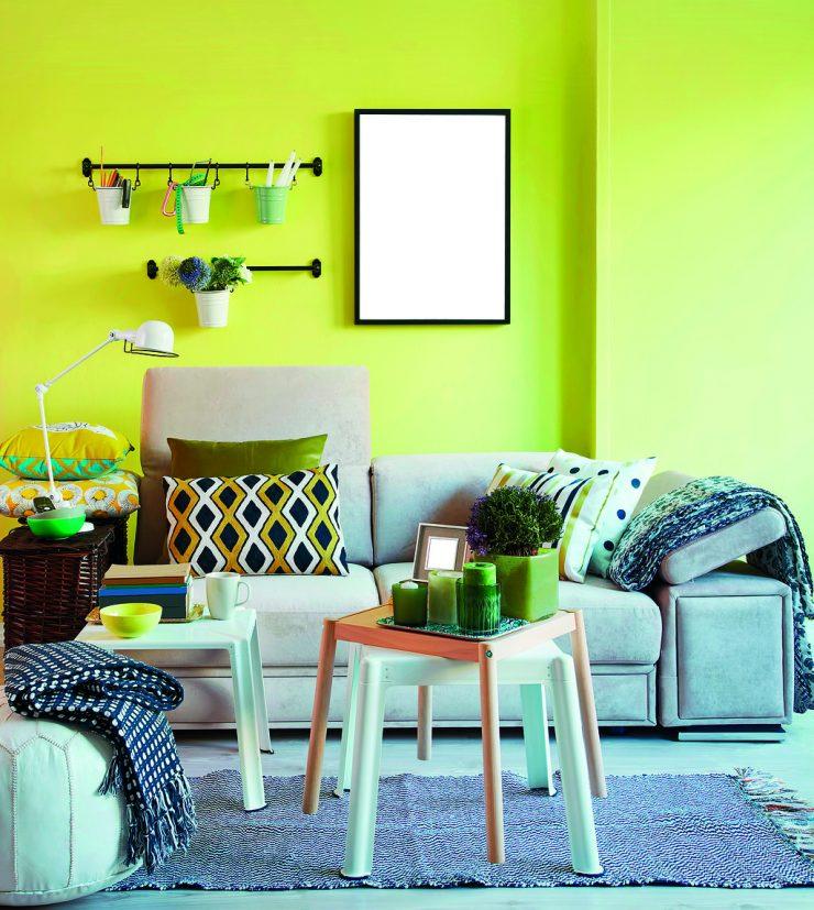 Malování pokojů vápnem