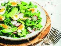 Zdravé jarní saláty