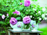 Venkovské květinové dekorace