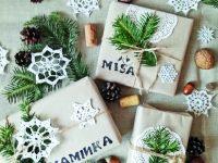 Razítka na dárky