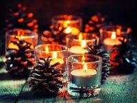 Svícny nejen na slavnostní stůl