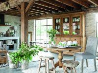 Venkovská idyla v kuchyni
