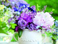 Váza ve venkovském stylu