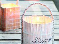 Bambusové svícny
