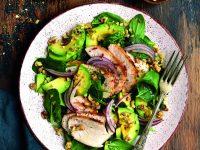 Zeleninové saláty s masem