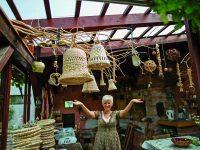 Pletení z orobince