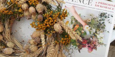 Kniha Věnce a přírodní dekorace pro tři výherce!