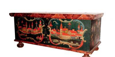Malovaný nábytek z jižních Čech