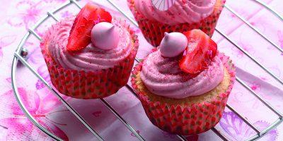 Jahodové dortíky