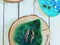 Miska ve tvaru listu