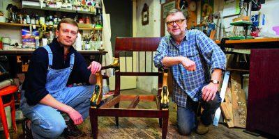 Staré řemeslo ještě žije – restaurování historického nábytku chce trpělivost a čas