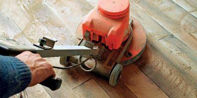 Jak brousit dřevěnou podlahu