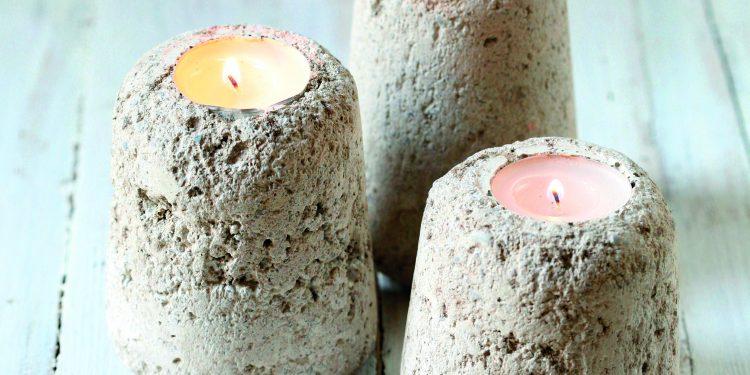 Odlévané svícny