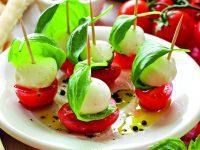 Rajčata a bazalka