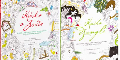 Dvě vymalovávací knihy pro mladé čtenáře výhrou v naší soutěži!