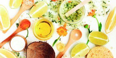 Domácí kosmetika s vůní bylinek