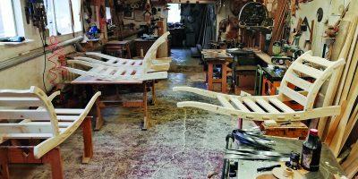 Truhlář Bořivoj Obšivač: Nejraději pracuji s dubovým dřevem