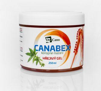 Hřejivý gel Canabex pro čtyři výherce!