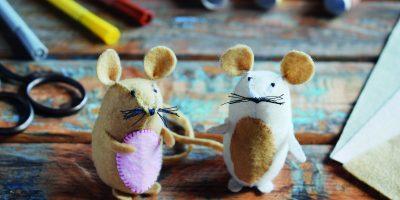 Myška z plsti